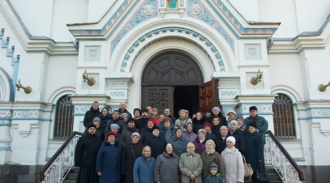 Паломники из Резекне посетили Даугавпилс