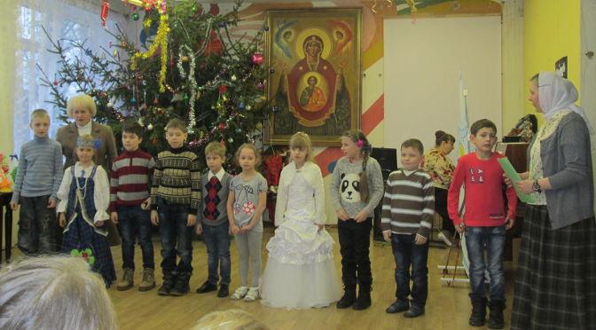 Детский рождественский утренник в Резекне