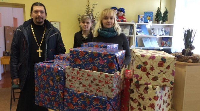 Рождественский подарок Резекненской детской библиотеке