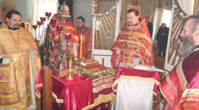 Соборное Пасхальное богослужение в Балви