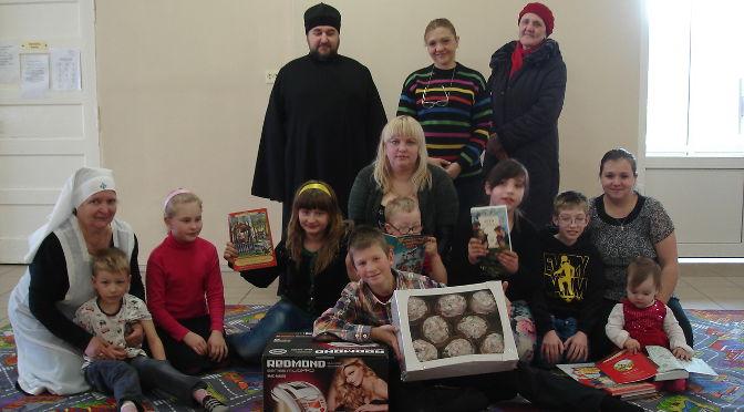 Пасхальный подарок детям с особыми потребностями