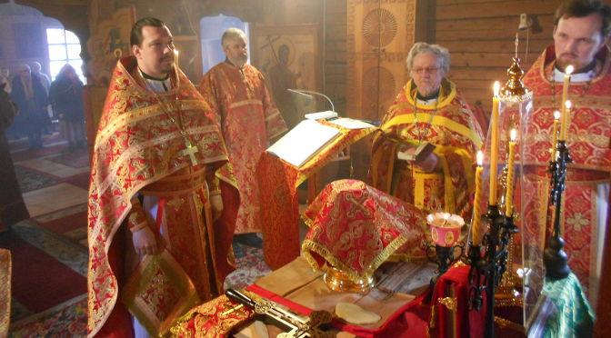 Соборное Пасхальное богослужение вКарсаве