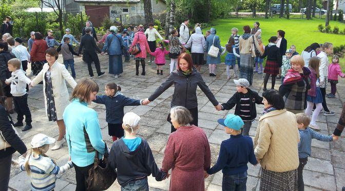 Детская воскресная школа встречала гостей