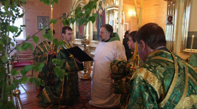 Епископ Александр совершил освящение Тискадского храма