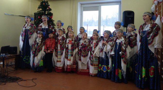 Праздничный концерт в детской школе-интернате пос. Малта