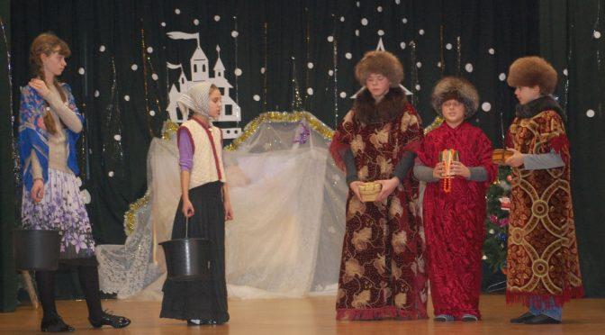 Рождество в Зилупской школе