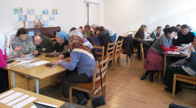 Резекненская воскресная школа для взрослых проверила своё знание Евангелия