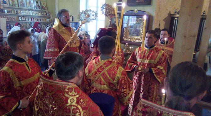 Архиерейское богослужение в Резекне