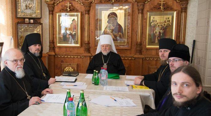 Епископ Александр принял участие в заседании Синода ЛПЦ