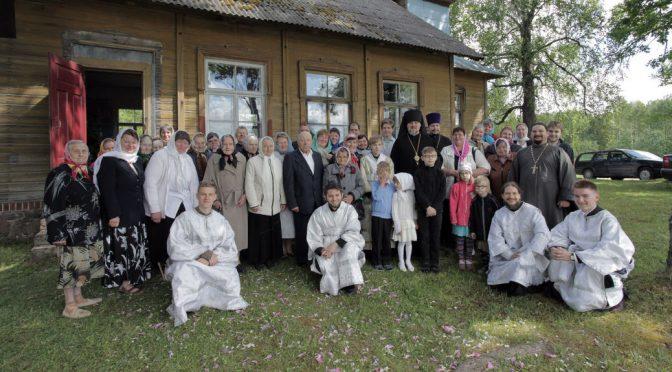 Храмовый праздник в посёлке Тилжа