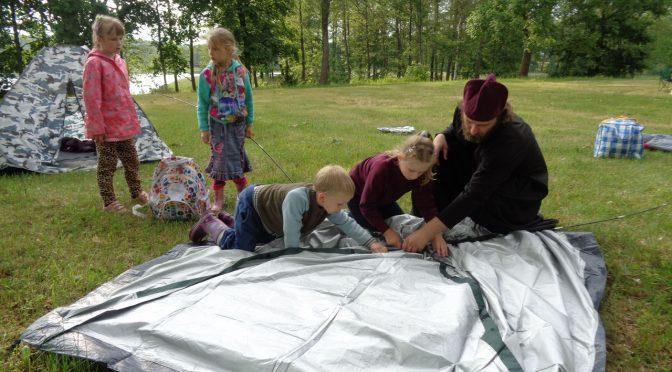 Детский лагерь в Краславе