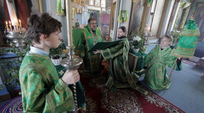 Храмовый праздник в Лаздоне