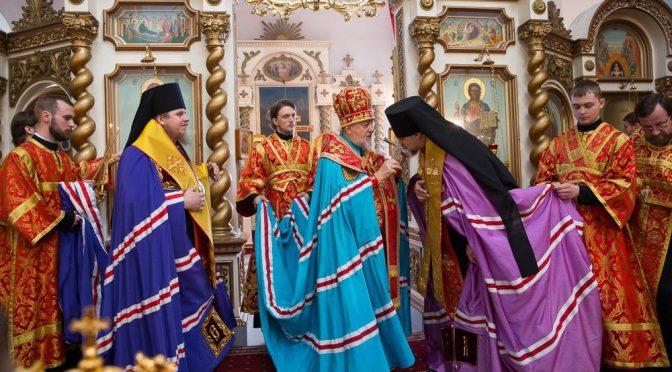 Состоялся визит Латвийских Архипастырей в Елгавское викариатство