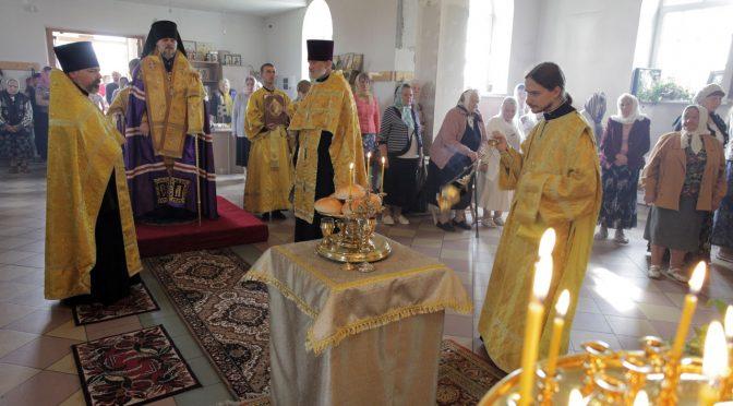 Всенощное бдение в Петро-Павловском храме города Даугавпилс