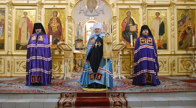 Латвийские Архипастыри совершили Всенощное бдение в Риге