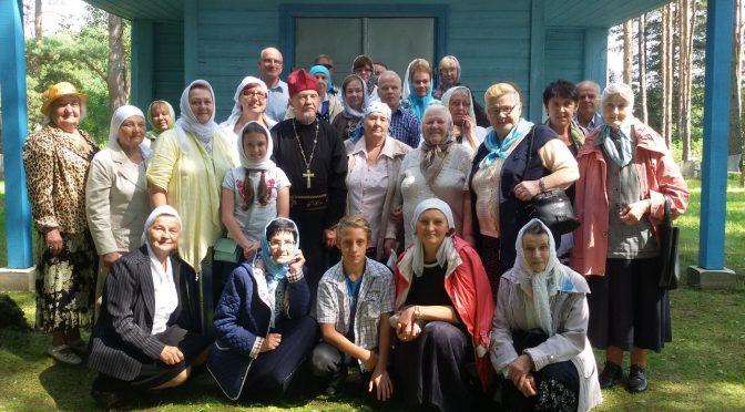 Храмовый праздник в посёлке Рейки