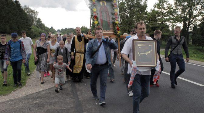 Прошёл Крестный ход из Даугавпилса в Малиновку