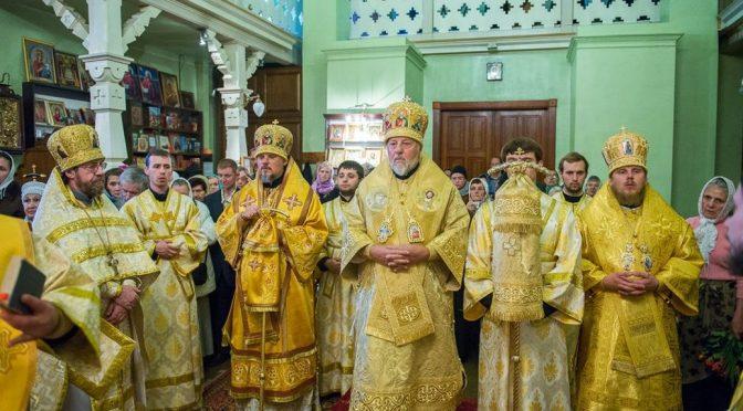 Латвийская Православная Церковь всеторжественно отметила день рождения своего Предстоятеля