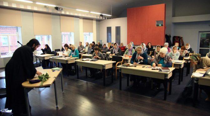 В Даугавпилсе начали работу епархиальные курсы религиозного образования и катехизации