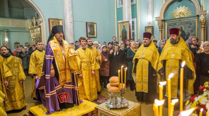 Всенощное бдение в Благовещенском храме города Рига