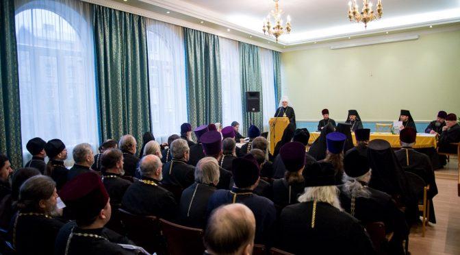 В Риге состоялось собрание духовенства Латвийской Православной Церкви
