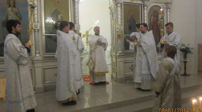 Литургия в Резекне во второй день Рождества Христова
