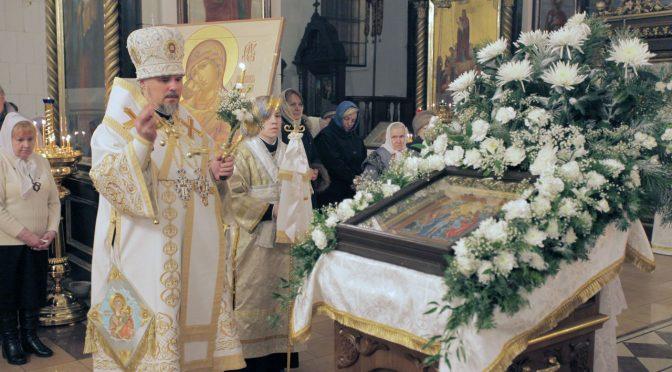 Всенощная праздника Крещения Господня в Борисо-Глебском соборе