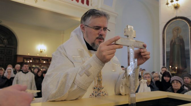 Литургия и чин Великого освящения воды в кафедральном соборе Даугавпилса