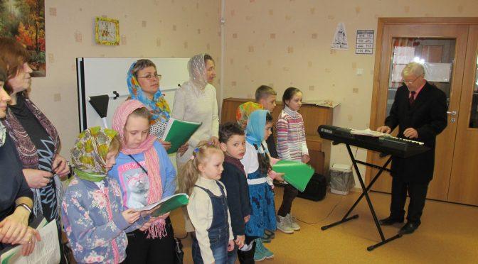 Пасхальные концерты детской воскресной школы Петро-Павловского храма