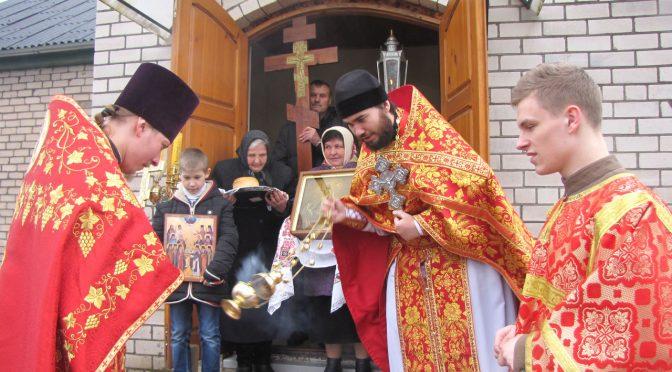 Даугавпилсский благочинный совершил Литургию в малиновском приходе