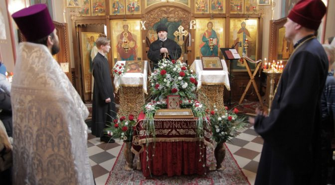 Епископ Александр посетил храмы Даугавпилса