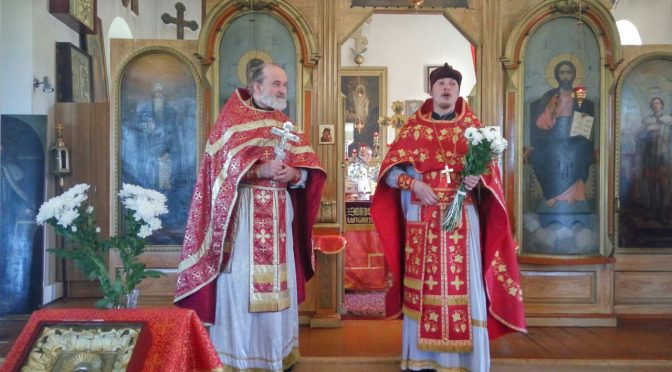 Литургия в Даугавпилсском Петро-Павловском храме