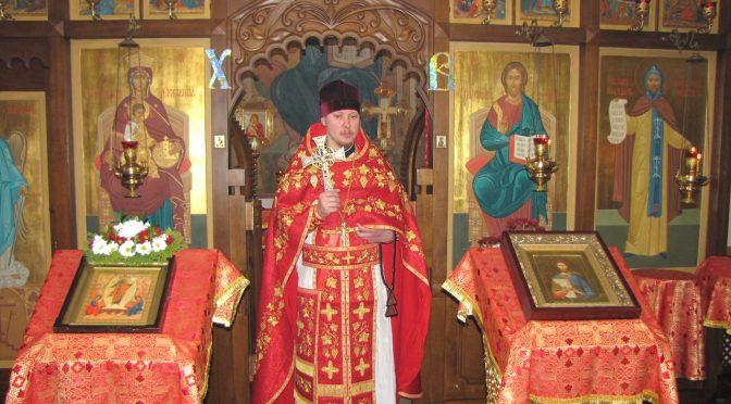 Благочинный Даугавпилсского округа совершил Литургию в Александро-Невском храме