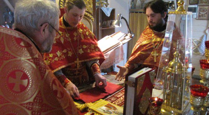 Гривский Никольский приход отметил престольный праздник
