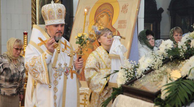 Всенощное бдение Вознесения в Борисо-Глебском соборе
