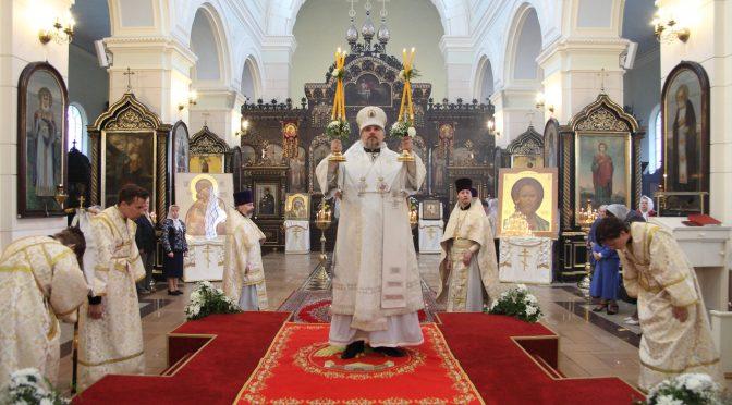 Литургия в Борисо-Глебском соборе в праздник Вознесения Господня