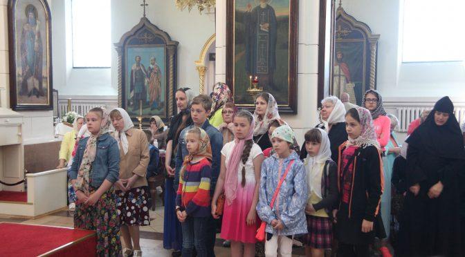 Окончился учебный год в воскресных школах Даугавпилсского благочиния