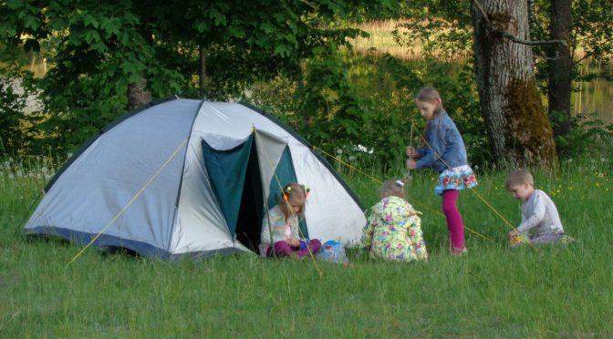 Летний лагерь в Краславе