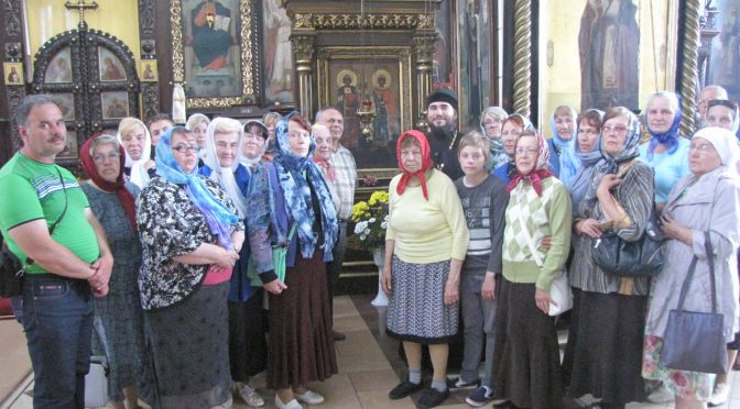 Паломники из Плявиняс посетили храмы Даугавпилса