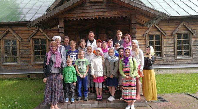 В Карсаве прошёл православный детский слёт