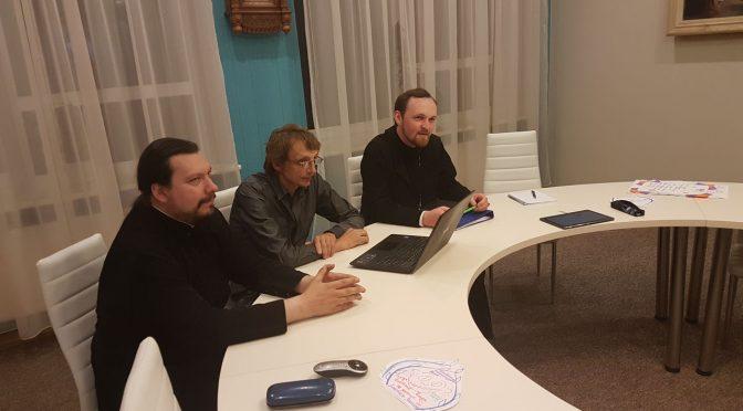 Собрание по итогам православного молодежного лагеря «Вецслобода»