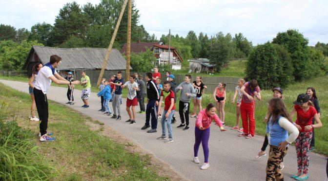 Второй день лагеря в Старой Слободе