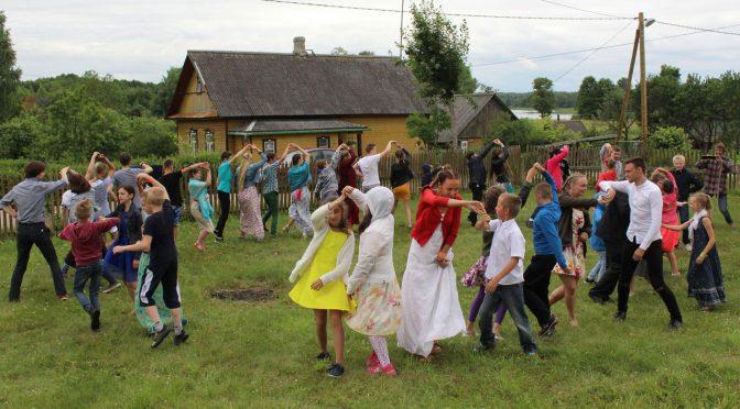 Третий день лагеря в Старой Слободе