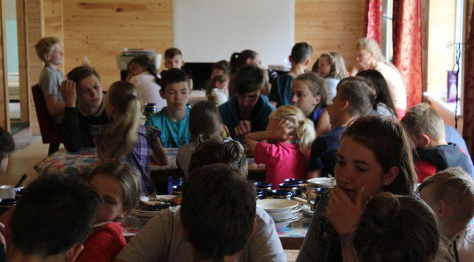 Шестой день лагеря в Старой Слободе