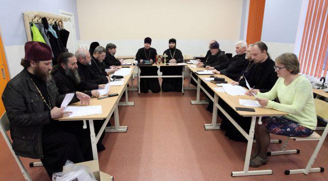 Очередное собрание духовенства Даугавпилсского благочиния