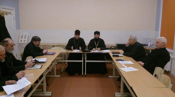 Состоялось собрание священнослужителей Даугавпилсского благочиния