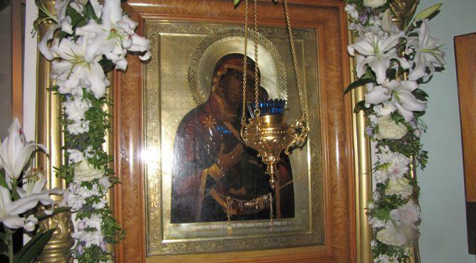 Илукстский женский монастырь отметил праздник Толгской иконы Богоматери