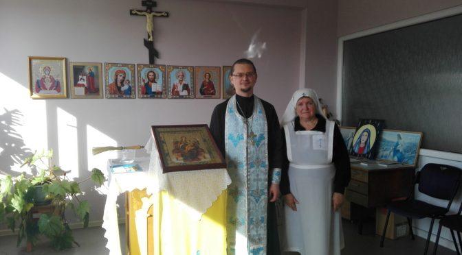 Молебен в капелле Резекненской городской больницы