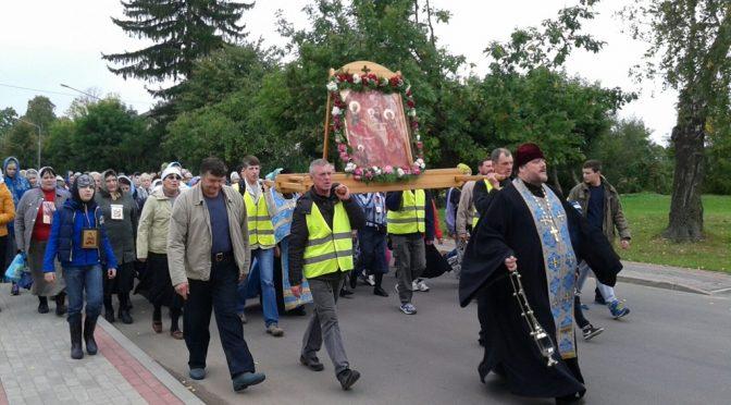 Крестный ход в Ополи