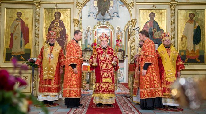 Латвийская Православная Церковь празднует день памяти священномученика Иоанна Рижского